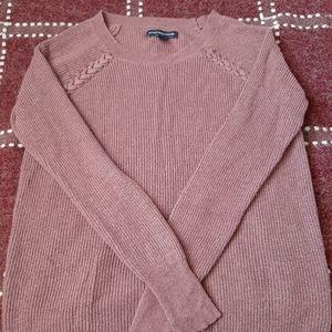 Mauve American Eagle sweater XS
